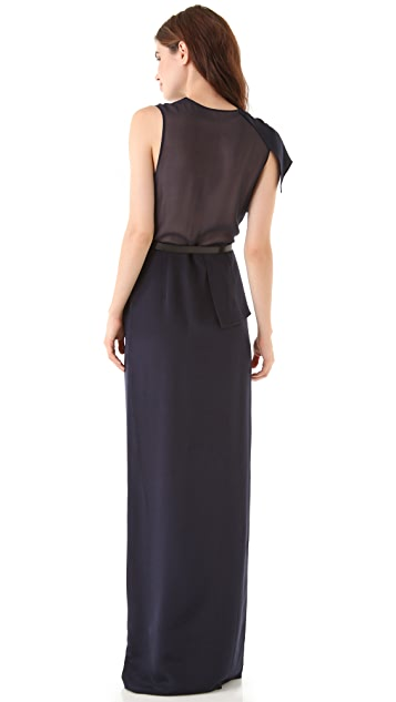 3.1 Phillip Lim Sheer Panel Gown