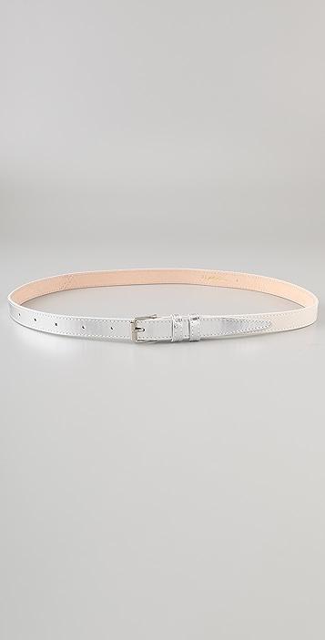 3.1 Phillip Lim Metallic Two Tone Trouser Belt