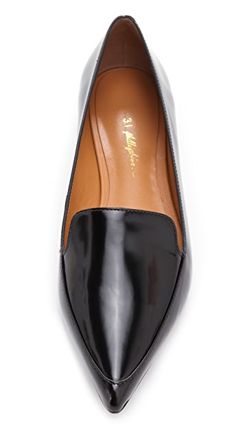 3.1 Phillip Lim Page Loafer Flats