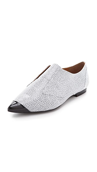 3.1 Phillip Lim Nancy Cap Toe Oxford Flats