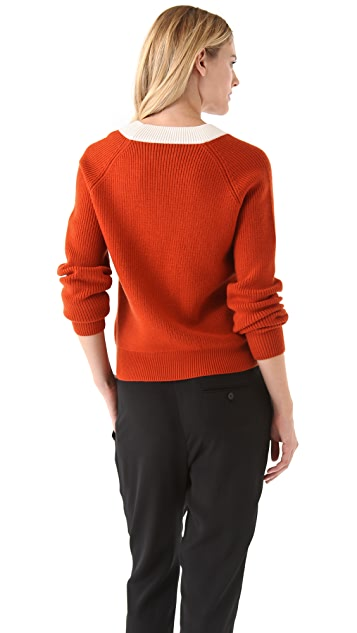 3.1 Phillip Lim Fading Houndstooth Sweater