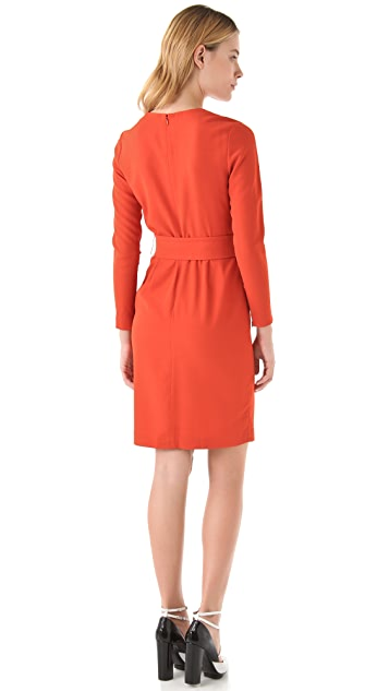 3.1 Phillip Lim Belted Long Sleeve Dress
