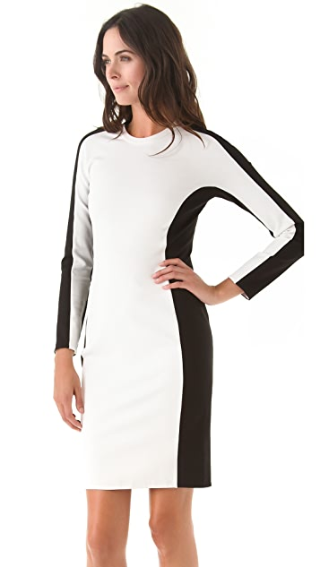 3.1 Phillip Lim Long Sleeve Shadow Dress