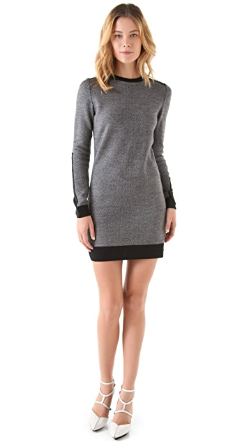 3.1 Phillip Lim Tweed Stitch Dress