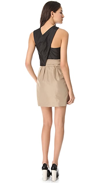 3.1 Phillip Lim Asymmetric Bow Dress