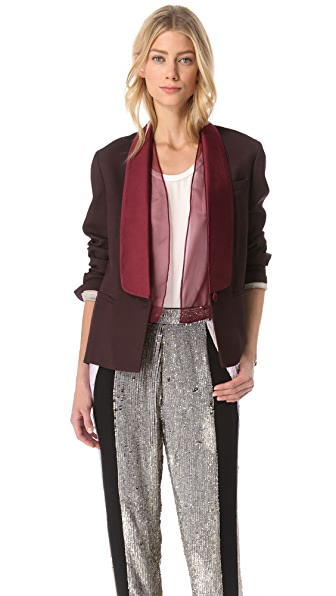 3.1 Phillip Lim Tuxedo Jacket with Organza