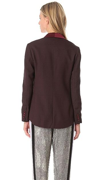 3.1 Phillip Lim Tuxedo Jacket with Organza
