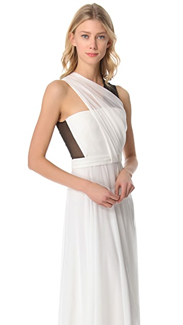 3.1 Phillip Lim Asymmetrical Draped Gown