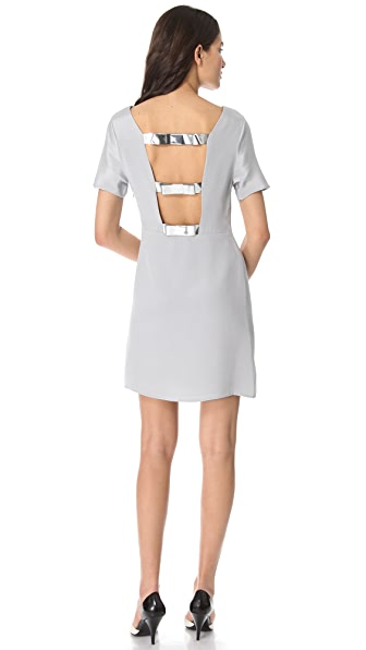 3.1 Phillip Lim Metallic Bow Dress