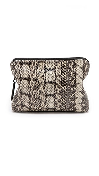 3.1 Phillip Lim 31 Second Snakeskin Pouch