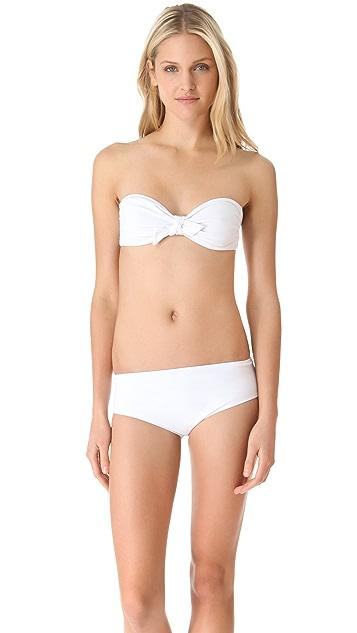 3.1 Phillip Lim Boy Short Bikini Bottoms