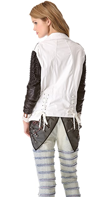 3.1 Phillip Lim Trifecta Studded Leather Jacket
