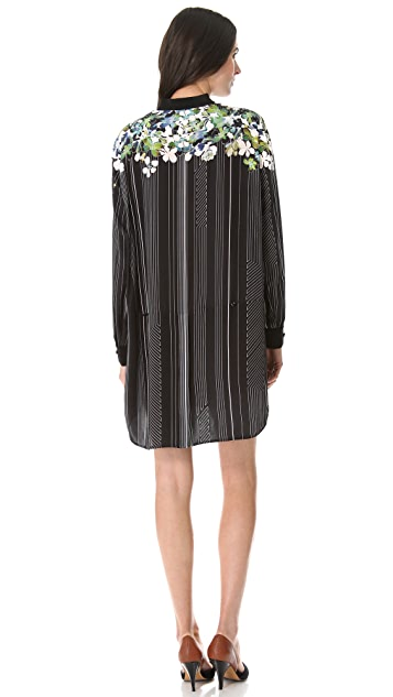 3.1 Phillip Lim Watercolor Shirtdress