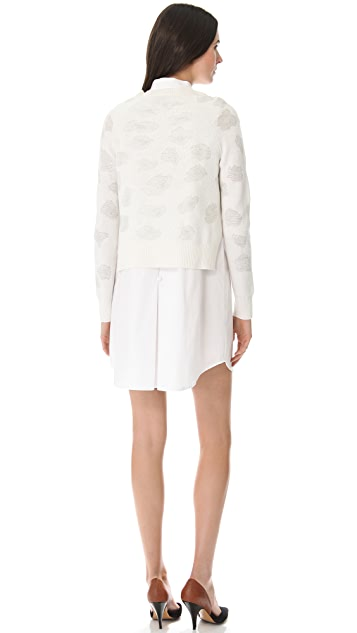 3.1 Phillip Lim Floral Jacquard Dress