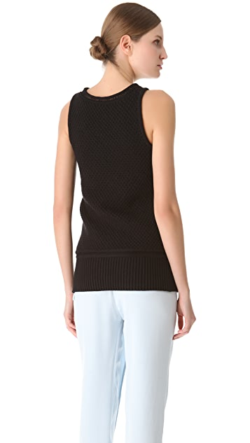 3.1 Phillip Lim Textured Stitch Tank