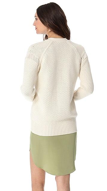 3.1 Phillip Lim Textured Stitch Cardigan