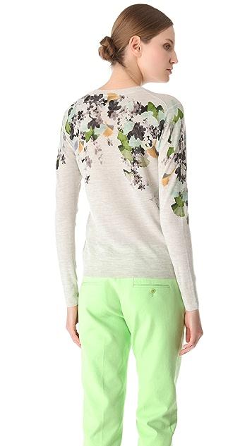 3.1 Phillip Lim Floral Print Pullover