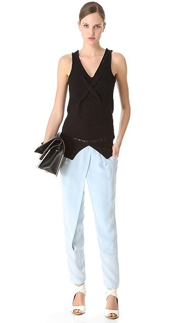 3.1 Phillip Lim Cross Front Wrap Trousers