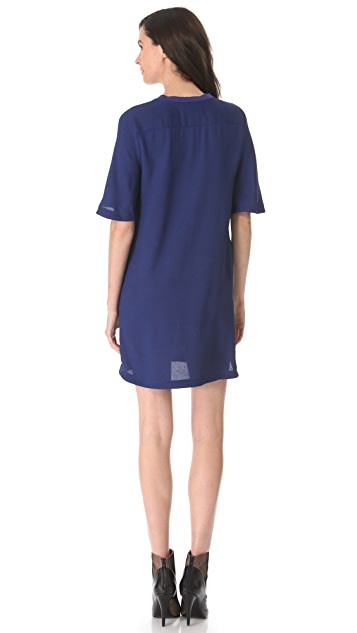 3.1 Phillip Lim Twisted Placket Dress