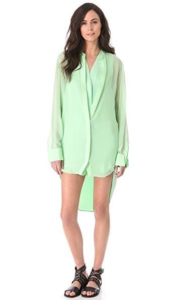 3.1 Phillip Lim Layered Shirtdress