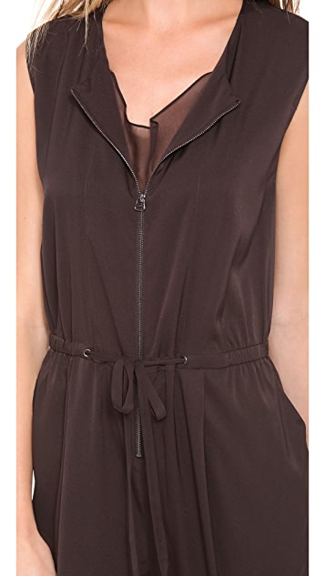 3.1 Phillip Lim Sleeveless Drape Neck Jumpsuit