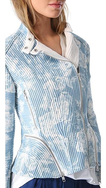 3.1 Phillip Lim Corded Floral Moto Jacket