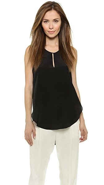 3.1 Phillip Lim Overlapped Side Seam Tank