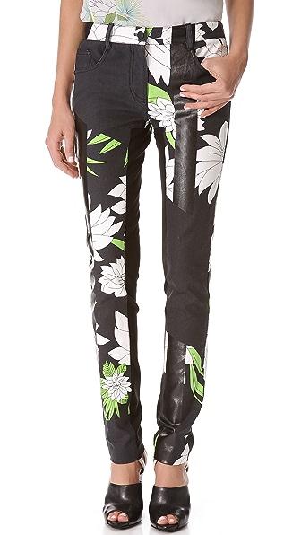 3.1 Phillip Lim Foil Stripe Skinny Pants