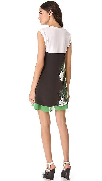 3.1 Phillip Lim Distorted Chrysanthemum Tee Dress