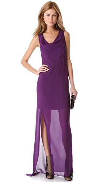 3.1 Phillip Lim Layered Twist Column Dress