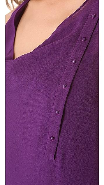 3.1 Phillip Lim Layered Twist Column Dress