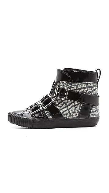 3.1 Phillip Lim Lyon Buckle Sneakers