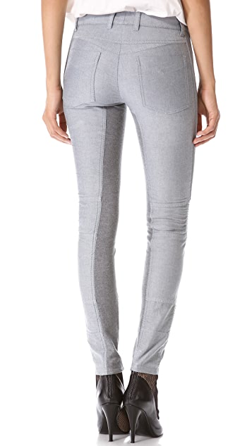 3.1 Phillip Lim Moto Pants with Ponte Inserts