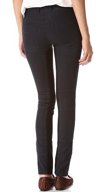 3.1 Phillip Lim Moto Pants with Ponte Inserts