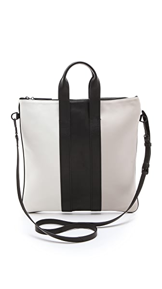 3.1 Phillip Lim Tricolor Slim Tote Bag