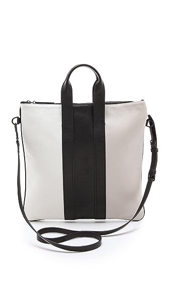 3.1 Phillip Lim Tricolor Slim Tote Bag
