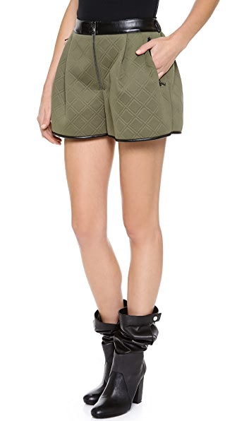 3.1 Phillip Lim Pleat Front Shorts