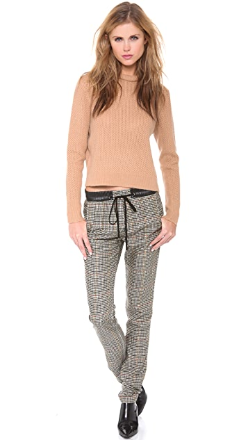 3.1 Phillip Lim Cropped Pullover with Rolled Neck