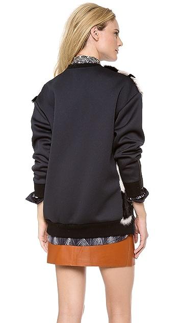 3.1 Phillip Lim Patchwork Sweatshirt