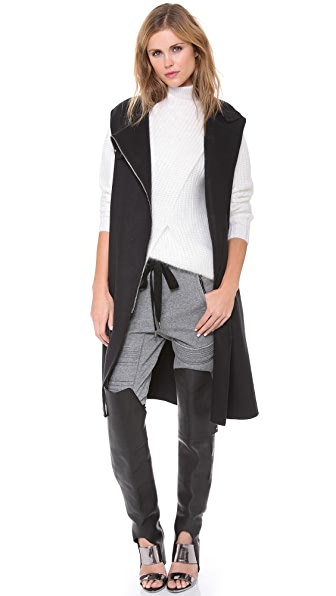 3.1 Phillip Lim Funnel Neck Cape