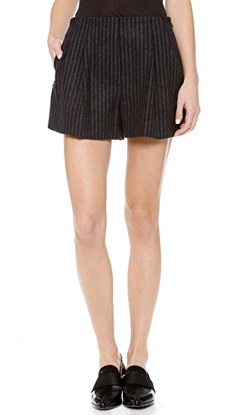 3.1 Phillip Lim Pleated Front Shorts