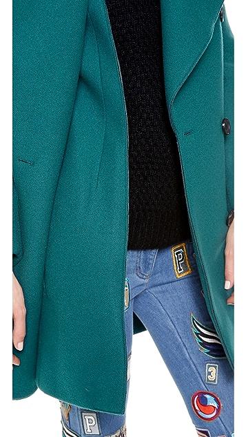 3.1 Phillip Lim Pea Coat with Detachable Collar
