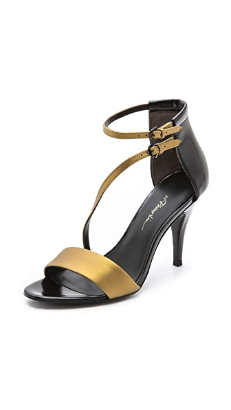 3.1 Phillip Lim Quill Asymmetrical Sandals