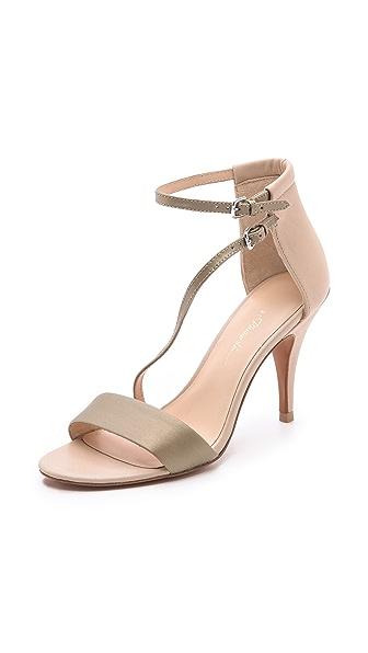 3.1 Phillip Lim Quill Asymmetrical Sandals