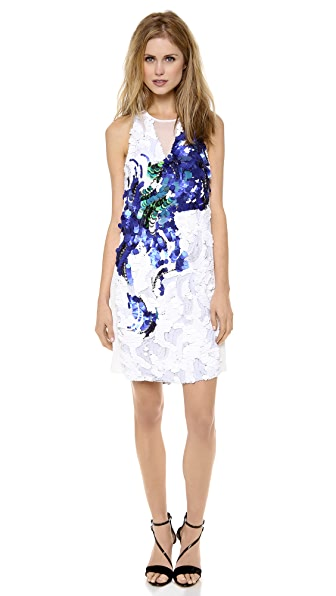 3.1 Phillip Lim Peacock Sequin Tank Dress