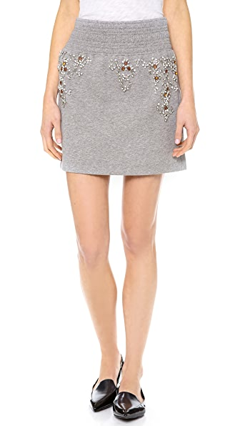 3.1 Phillip Lim Embellished Boxing Skirt
