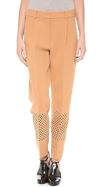 3.1 Phillip Lim Laser Cut Pleated Pants