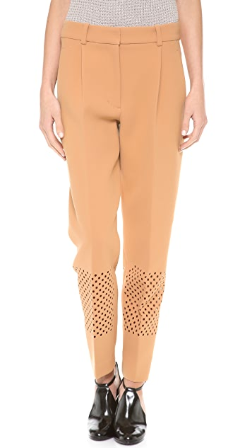 3.1 Phillip Lim Laser Cut Pleated Pants
