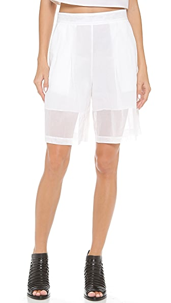 3.1 Phillip Lim Pleated Full Shorts