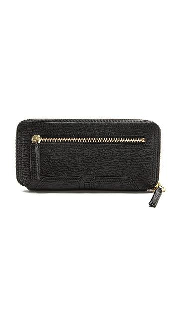 3.1 Phillip Lim Pashli Zip Around Wallet